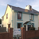 House redering completed, Newtown