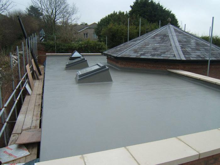 Dry Zone Damp Course Treatment Grp Fibreglass Resin Flat